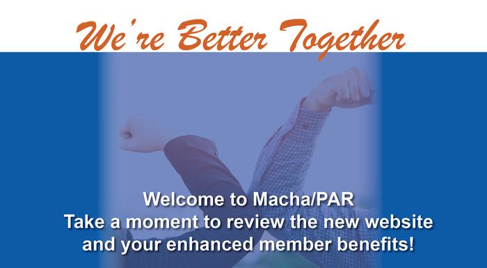 Welcome to Macha/PAR!